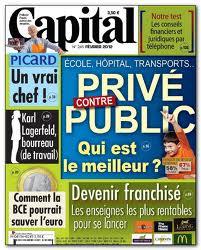 Magazine capital février 2012